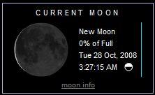new moon frost moon